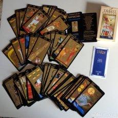 Barajas de cartas: BARAJA CARTAS TAROT - TAROT EGIPCIO SILVANA ALASIA 1998 78 NAIPES EDICIONES ORBIS 2001.COLECCIÓN. Lote 278921338