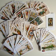 Barajas de cartas: BARAJA CARTAS TAROT - ANTIGUO TAROT ITALIANO CARTIERA ITALIANA SERRAVALLE SESIA 78 NAIPES ORBIS 2001. Lote 278922043