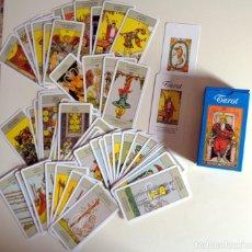 Barajas de cartas: BARAJA CARTAS TAROT - ANTIGUO TAROT ARTHUR WAITE 1910 NAIPES ORBIS 2001 - INCOMPLETA. Lote 278922808