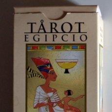 Barajas de cartas: BARAJA CARTAS TAROT EGIPCIO CAJA VACIA!!! SIN NAIPES!!! EDICIONES ORBIS 2001 SCARABEO COLECCIÓN. Lote 278923558