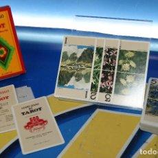 Barajas de cartas: BARAJA NUEVO JUEGO DEL TAROT. DEDICADO A LA REGIÓN ALPINA. 78 CARTAS. FOURNIER, 1977.. Lote 278930438