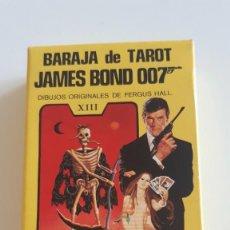 Barajas de cartas: BARAJA CARTAS TAROT FOURNIER JAMES BOND 007 - WITCHES - PARASICOLOGICO -1973 -. Lote 279407853
