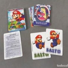 Barajas de cartas: BARAJA DE NAIPES COMPLETA DE SUPER MARIO 64. NINTENDO. HERACLIO FOURNIER. Lote 279512803
