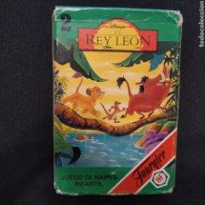 Barajas de cartas: BARAJA DE 33 CARTAS HERACLIO FOURNIER, EL REY LEON. COMPLETA.. Lote 280120278