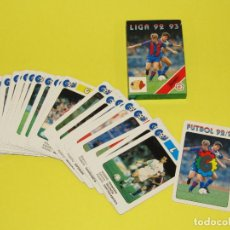 Barajas de cartas: ANTIGUA BARAJA DE FUTBOL LIGA 92 - 93 DE H. FOURNIER. Lote 280549793