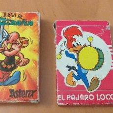 Barajas de cartas: BARAJAS CARTAS EL PÁJARO LOCO Y LA CIZAÑA. Lote 281930493