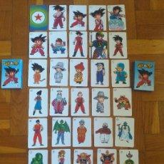 Jeux de cartes: BARAJA DRAGON BALL - FOURNIER AÑO 1986 COMPLETA Y COMO NUEVA. + CARTAS ADICIONALES. Lote 282252783