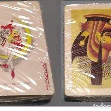 Barajas de cartas: BARAJA DE POKER NUEVA DE EGIPTO - SOUVENIR - AHORRA EN EL ENVIO Y COMPRA MAS. Lote 282896338