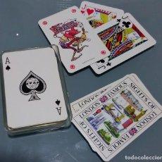 Barajas de cartas: BARAJA DE POKER NUEVA - SOUVENIR DE LONDRES U.K.. Lote 282898048