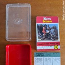 Jeux de cartes: BARAJA FOURNIER MOTOS VELOCES - MOTOCICLISMO - YAMAHA HONDA DUCATI LAVERDA HARLEY OSSA. Lote 284211168