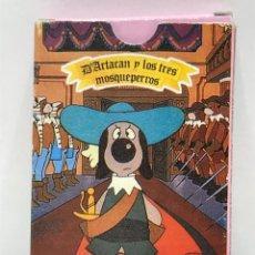 Jeux de cartes: BARAJA DE CARTAS DE DARTACAN Y LOS 3 MOSQUEPERROS - COMPLETA. Lote 284672043