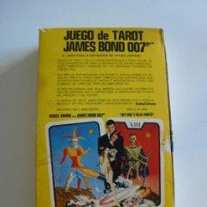 Barajas de cartas: BARAJA TAROT JAMES BOND 007 DE FOURNIER - COMPLETO DE 1973 - CAJA INSTRUCCIONES, BARAJA Y TABLERO. Lote 284777183