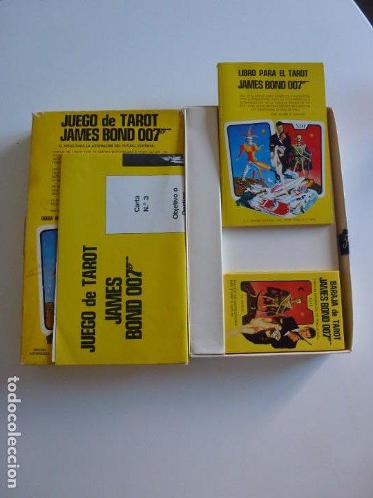 Barajas de cartas: Baraja TAROT JAMES BOND 007 DE FOURNIER - COMPLETO DE 1973 - CAJA INSTRUCCIONES, BARAJA Y TABLERO - Foto 3 - 284777183