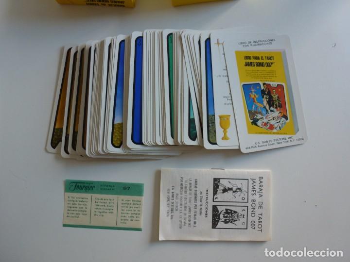 Barajas de cartas: Baraja TAROT JAMES BOND 007 DE FOURNIER - COMPLETO DE 1973 - CAJA INSTRUCCIONES, BARAJA Y TABLERO - Foto 6 - 284777183