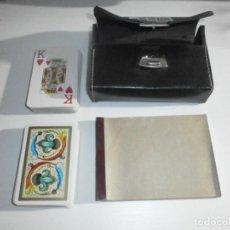 Barajas de cartas: DOS BARAJAS DE CARTAS CON ESTUCHE Y LIBRETITA DOS BARAJAS DE CARTAS CON ESTUCHE Y LIBRETITA SIMULATE. Lote 285129593