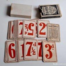 Jeux de cartes: BARAJA INGLESA CHANGE SHILLING. Lote 285315378