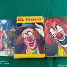 Barajas de cartas: BARAJA NAIPES INFANTIL EL CIRCO COMPLETA HERACLIO FOURNIER. Lote 285385413
