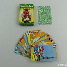 Jeux de cartes: BARAJA INFANTIL LOS WOMBLES DE HERACLIO FOURNIER. Lote 285387528