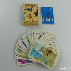 Jeux de cartes: BARAJA CARTAS INFANTIL FOURNIER FESTIVAL WALT DISNEY. Lote 285387723