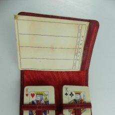 Barajas de cartas: ANTIGUO ESTUCHE CARTAS BARAJA PINACLE. Lote 285389388