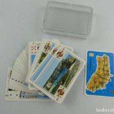 Barajas de cartas: BARAJA DE CARTAS SAVIR PÓKER MENORCA. Lote 285389608