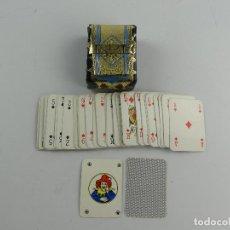 Barajas de cartas: PEQUEÑA BARAJA DE CARTAS CON EXCELENTE ESTUCHE FUNDA. Lote 285389818