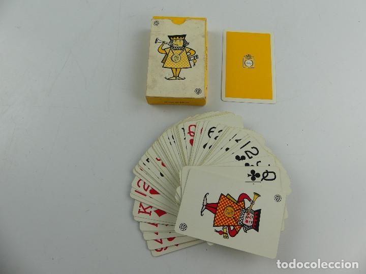 BARAJA FOURNIER CON PUBLICIDAD TONICA FINLEY (Juguetes y Juegos - Cartas y Naipes - Barajas de Póker)