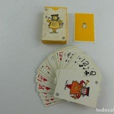 Barajas de cartas: BARAJA FOURNIER CON PUBLICIDAD TONICA FINLEY. Lote 285390263
