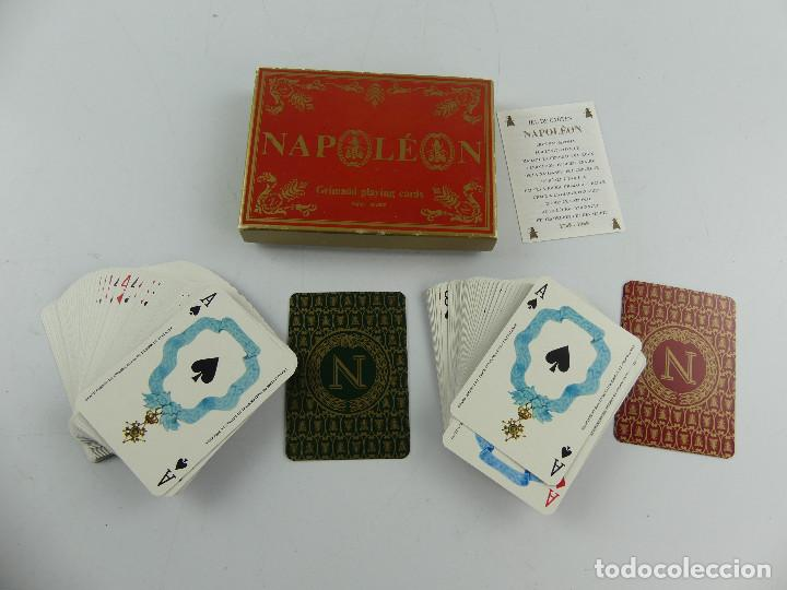 CAJA CON DOS BARAJAS NAPOLEON FRANCIA (Juguetes y Juegos - Cartas y Naipes - Barajas de Póker)