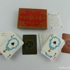 Barajas de cartas: CAJA CON DOS BARAJAS NAPOLEON FRANCIA. Lote 285392533
