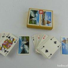 Barajas de cartas: CAJA CON DOS BARAJAS DE CARTAS FINEST SWISS PLAYING CARDS. Lote 285392898