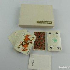 Barajas de cartas: ESTUCHE CON DOS BARAJAS DE CARTAS EUROPE. Lote 285393768