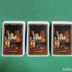 Barajas de cartas: TONIICA KAS ANTIGUA BARAJA PUBLICITARIA NAIPE ESPAÑOL COMPLETA FOURNIER VITORIA SIN USO. Lote 285492068