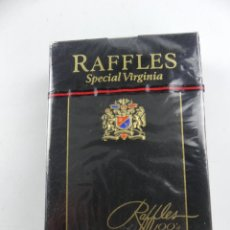 Barajas de cartas: BARAJA CARTAS PÓKER RAFFLES SPECIAL. Lote 285638803
