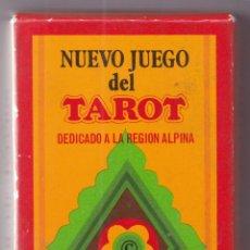 Barajas de cartas: NUEVO JUEGO DEL TAROT – 600 AÑOS DE NAIPES EN EUROPA (1377-1977) – FOURNIER – NAIPES PRECINTADOS. Lote 286247078