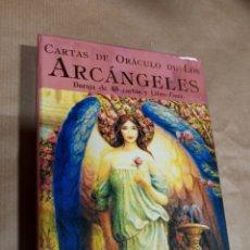 Barajas de cartas: CARTAS DE ORÁCULO DE LOS ARCÁNGELES DOREEN VIRTUE INCLUYE LIBRO GUÍA. Lote 286257743