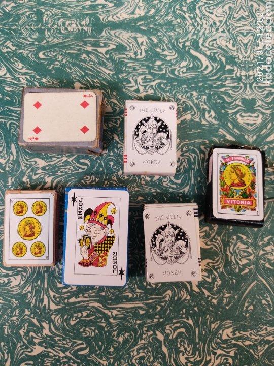 Barajas de cartas: Lote naipes Póker y baraja española. Liliput - Foto 2 - 286270103