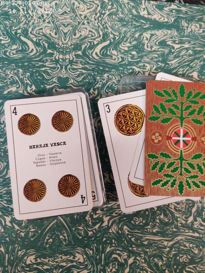 Barajas de cartas: Baraja cartas vascas - Foto 3 - 286275258