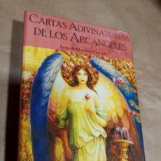 Barajas de cartas: CARTAS ADIVINATORIAS DE LIS ARCÁNGELES DOREEN VIRTUE INCLUYE LIBRO GUIA. Lote 286276603