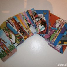 Mazzi di carte: LOTE COMPLETO DE 48 CARTAS MAZINGER Z - PIPAS TOSTADERO JEM - NAIPES. Lote 286553843