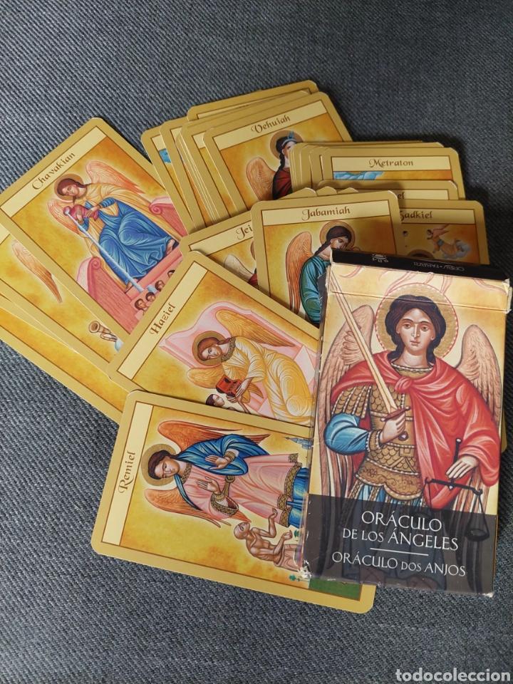 ORÁCULO DE LOS ÁNGELES- CARTAS TAROT (Juguetes y Juegos - Cartas y Naipes - Barajas Tarot)