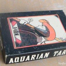 Jeux de cartes: JUEGO DE CARTAS, BARAJA. THE AQUARIAN TAROT DECK. DAVID PALLADINI, US. GAMES SYSTEMS. 1970. Lote 286745188