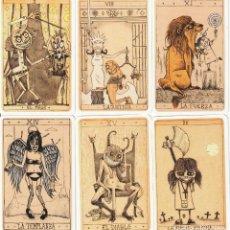 Barajas de cartas: TAROT MACABRO + WAITE TAROT. Lote 287150523