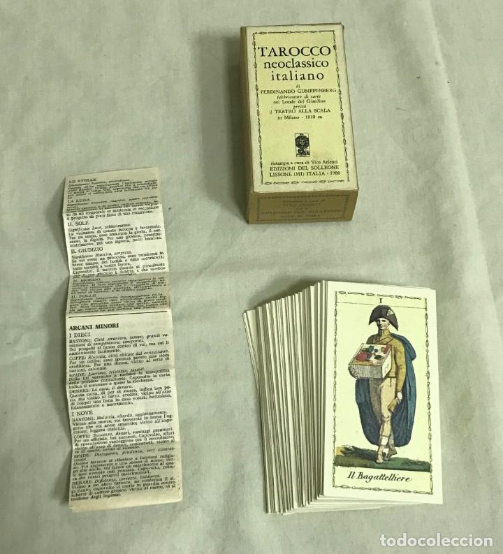 TAROT COLECCIÓN TAROCCO NEOCLÁSSICO ITALIANO. EDICIÓN LIMITADA Nº410/999. A ESTRENAR (Juguetes y Juegos - Cartas y Naipes - Barajas Tarot)
