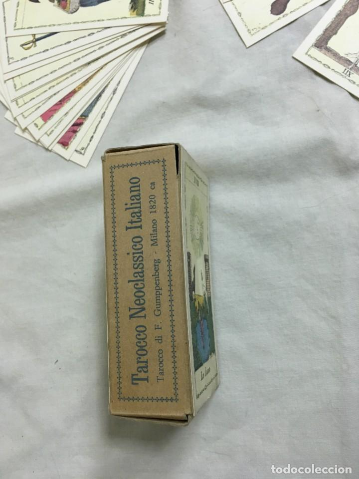 Barajas de cartas: TAROT COLECCIÓN TAROCCO NEOCLÁSSICO ITALIANO. EDICIÓN LIMITADA Nº410/999. A ESTRENAR - Foto 6 - 287372663