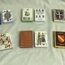 Barajas de cartas: CONJUNTO DE 6 BARAJAS FRANCESAS DE PÓKER. CARTAS DE COLECCIÓN. SURTIDO 1. A ESTRENAR. Lote 287373043