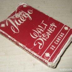 Jeux de cartes: BARAJA DE CARTAS JUEGO WALT DISNEY - AÑOS 60. Lote 287481538