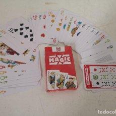 Barajas de cartas: BARAJA DE NAIPES PARA MAGIA, MAGIC, KFC, CARTAMUNDI, EN SU ESTUCHE. Lote 287657273
