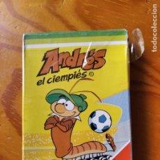 Jeux de cartes: ANDRES EL CIENPIÉS 1982 MUNDIAL - BARAJA DE CARTAS COMPLETA HERACLIO FOURNIER NUEVA SIN ABRIR -. Lote 287669513