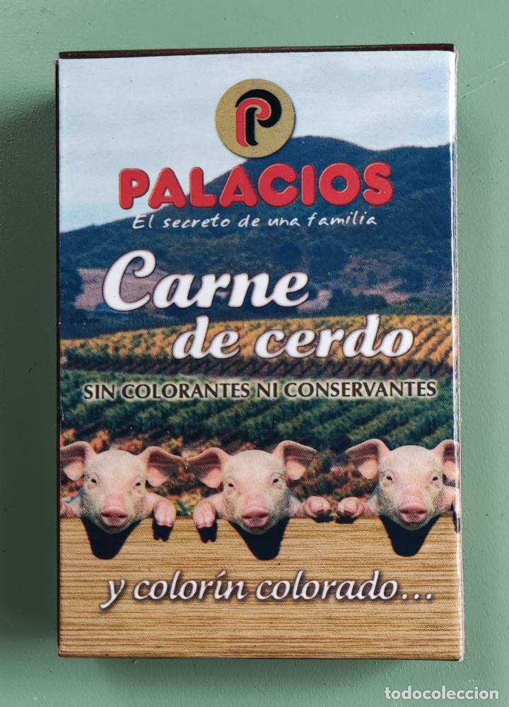 Barajas de cartas: BARAJA DE CARTAS PALACIOS. CHORIZO EXTRA. CARNE DE CERDO. SABOR 2010 - Foto 2 - 287704938